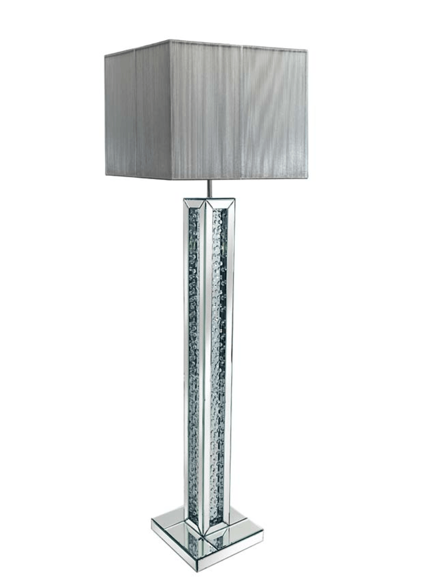 Choosing From The Material Of Floor Lamps Crystal