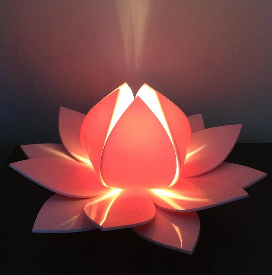 Flower Lamps Are The Beautiful Product To Decorate Home