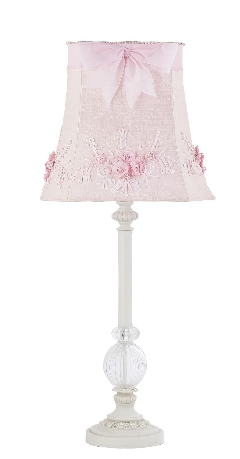 Add style and decor to her room using girl nursery lamps for Girl nursery lighting