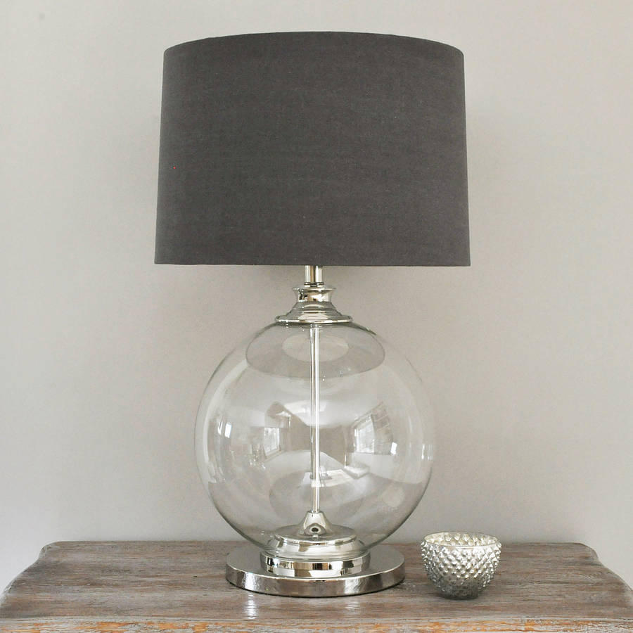 Glass ball lamps ways to add personality and