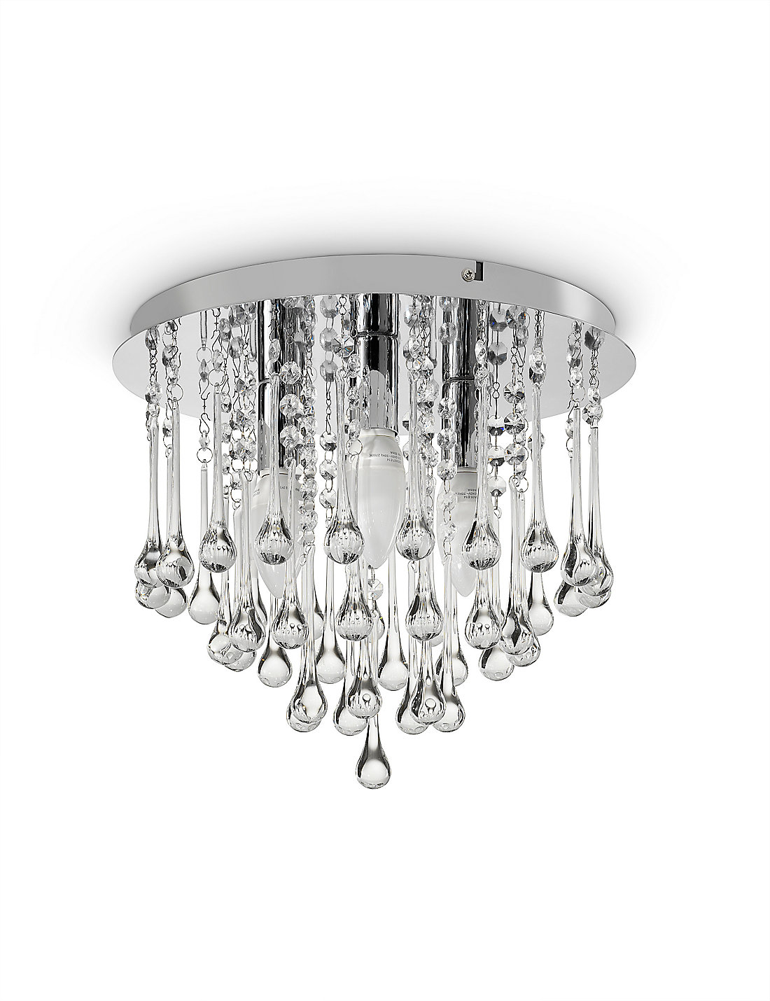 10 things to consider before buying glass droplet ceiling lights on the contrary a very heavily designed room with lavish furniture will require an opulent glass droplet light to complete the looks mozeypictures Gallery