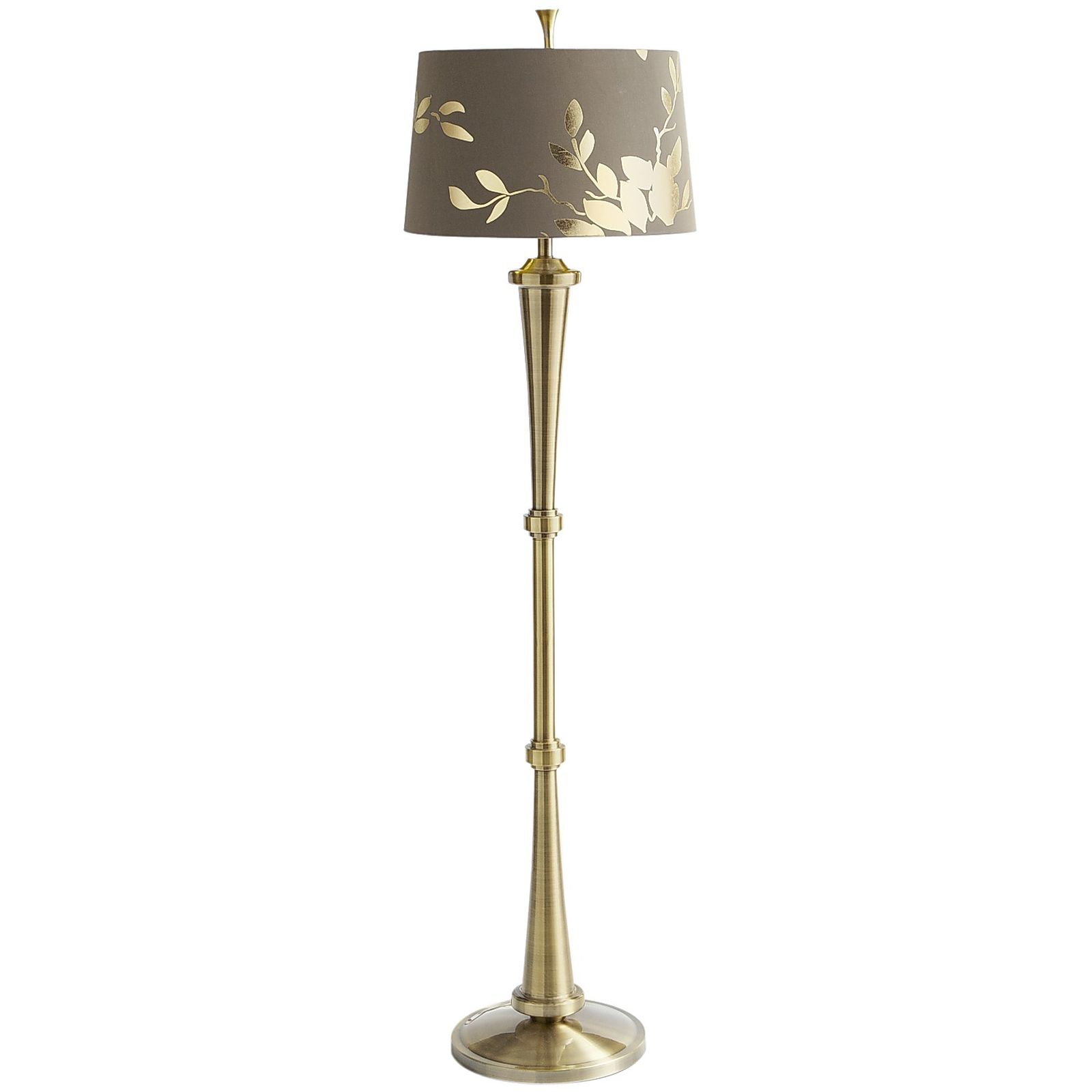 Gold Floor Lamps Attractive Pieces Of Light For Your