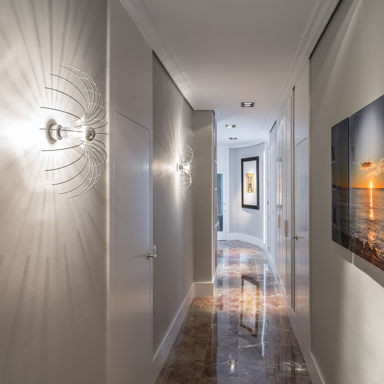 Make your hallways bright with our wall lights warisan lighting make your hallways bright with our wall lights aloadofball Image collections