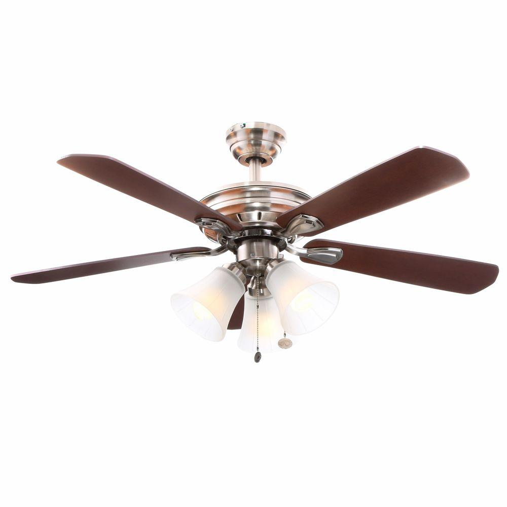 Ceiling Fans With Lights : Hampton bay light ceiling fan reasons to buy