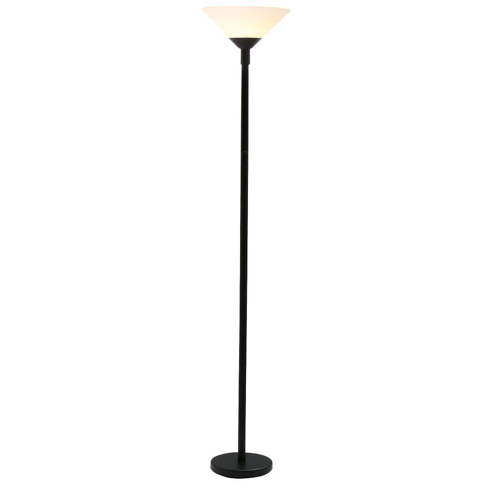 10 things to consider when choosing hampton bay floor lamps the floor lamps should be low enough to cover the light switch but not too low that you have to bend down to operate the lamp switch mozeypictures Gallery