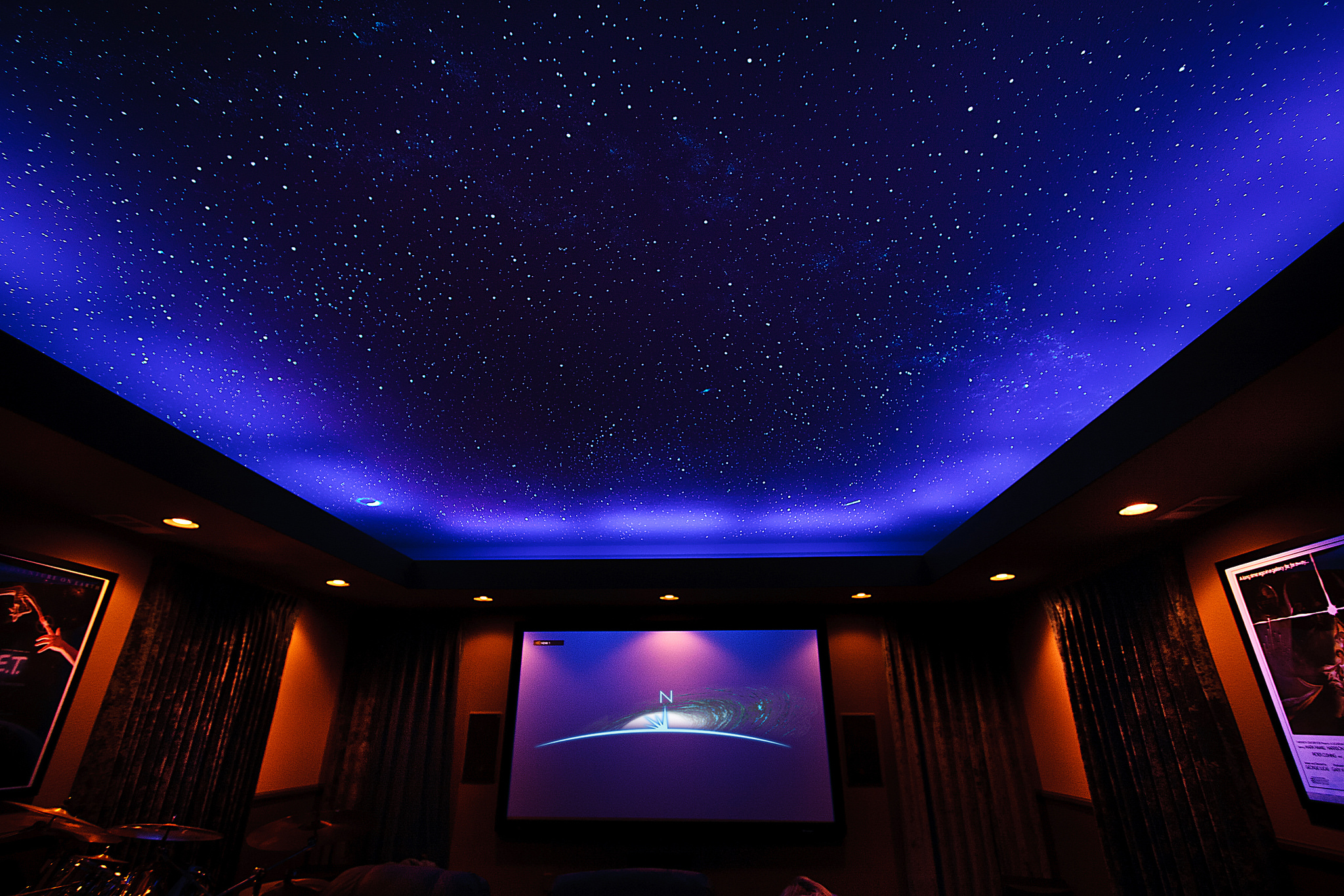Led Ceiling Lights Home Theatre : Home theater ceiling lights tips for buying warisan