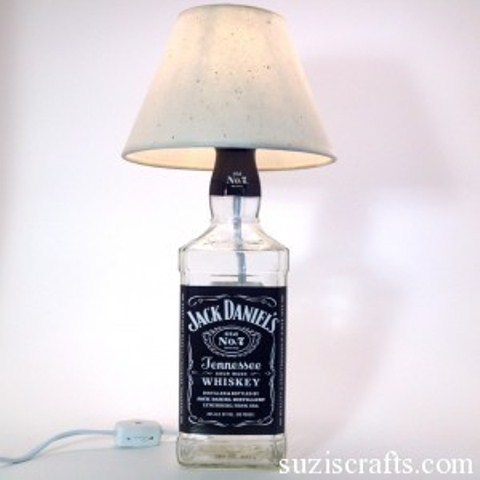 How To Make Liquor Bottle Lamps Simple Step By Step