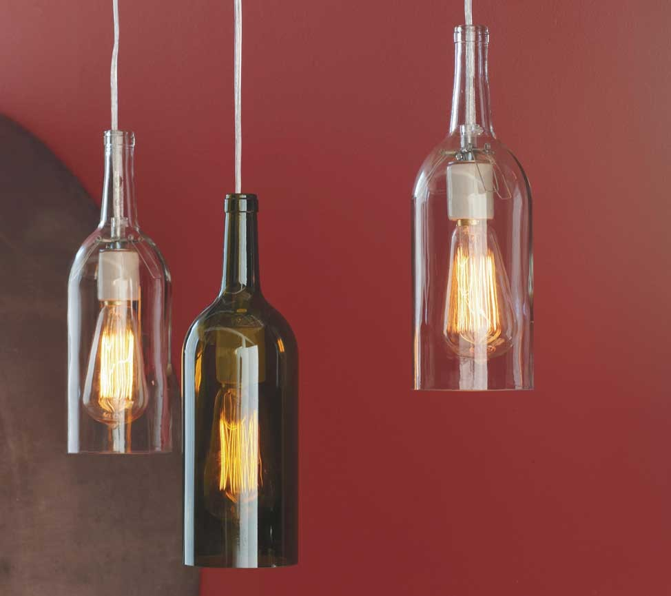 How to make wine bottle lamps 10 tips warisan lighting for How to make glasses made from wine bottles