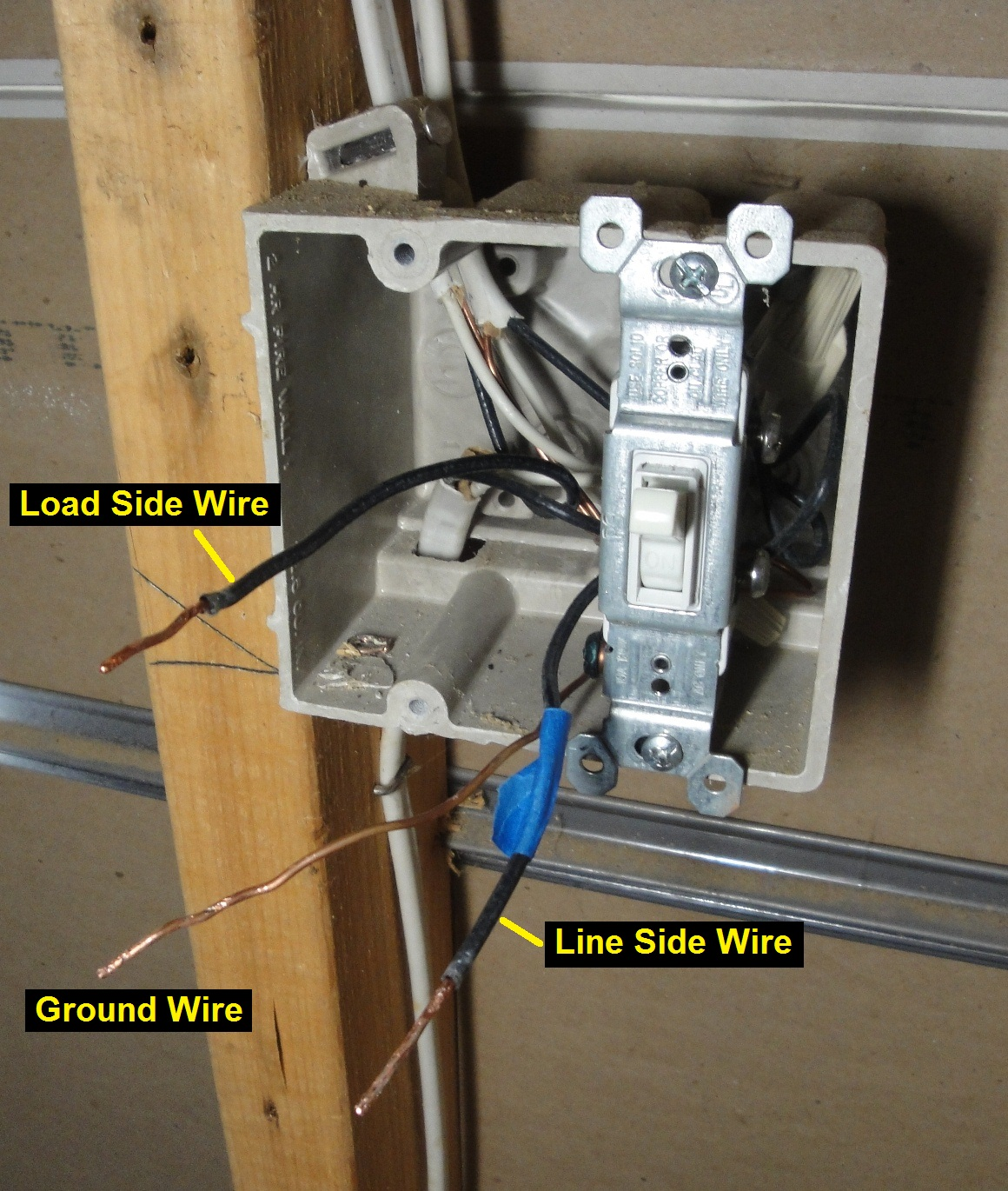 Installed Ceiling Fan Trips Breaker Ceiling Fan Wiring: 10 Simple Steps On How To Wire A Wall Switch To A Light
