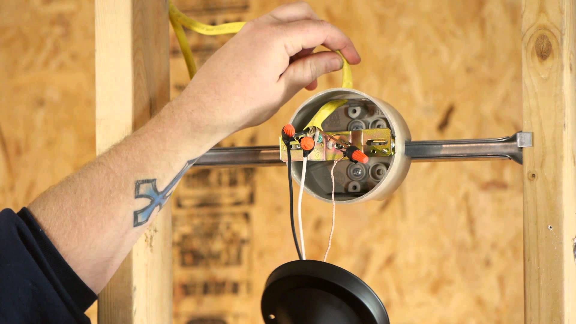 10 Simple Steps On How To Wire A Wall Switch Light Warisan Installing Wiring Step 1