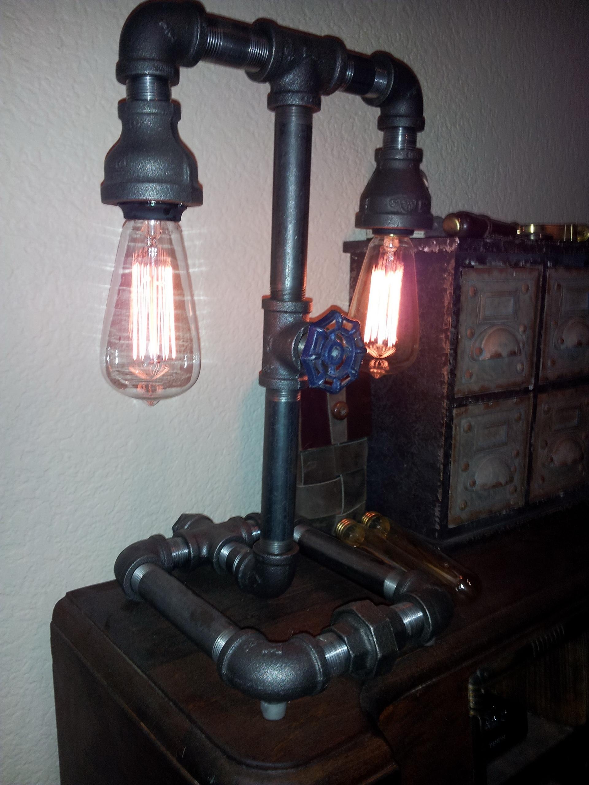 verwunderlich industrial style lampen fotos erindzain. Black Bedroom Furniture Sets. Home Design Ideas