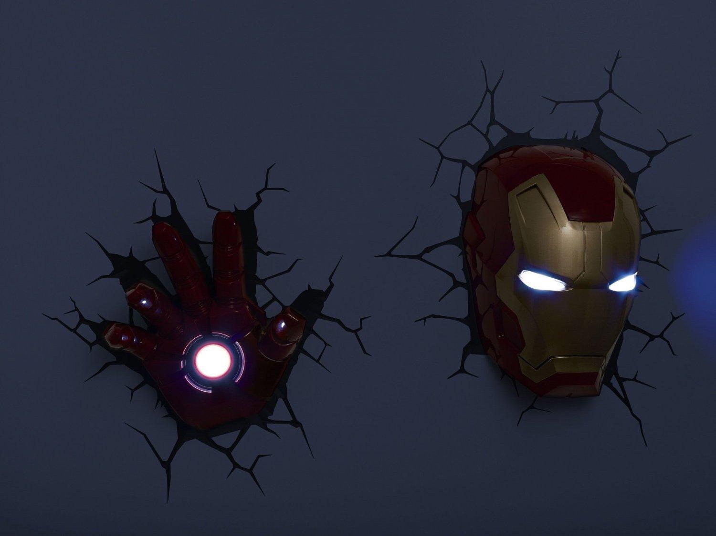 10 Benefits Of Iron Man 3d Wall Light Warisan Lighting