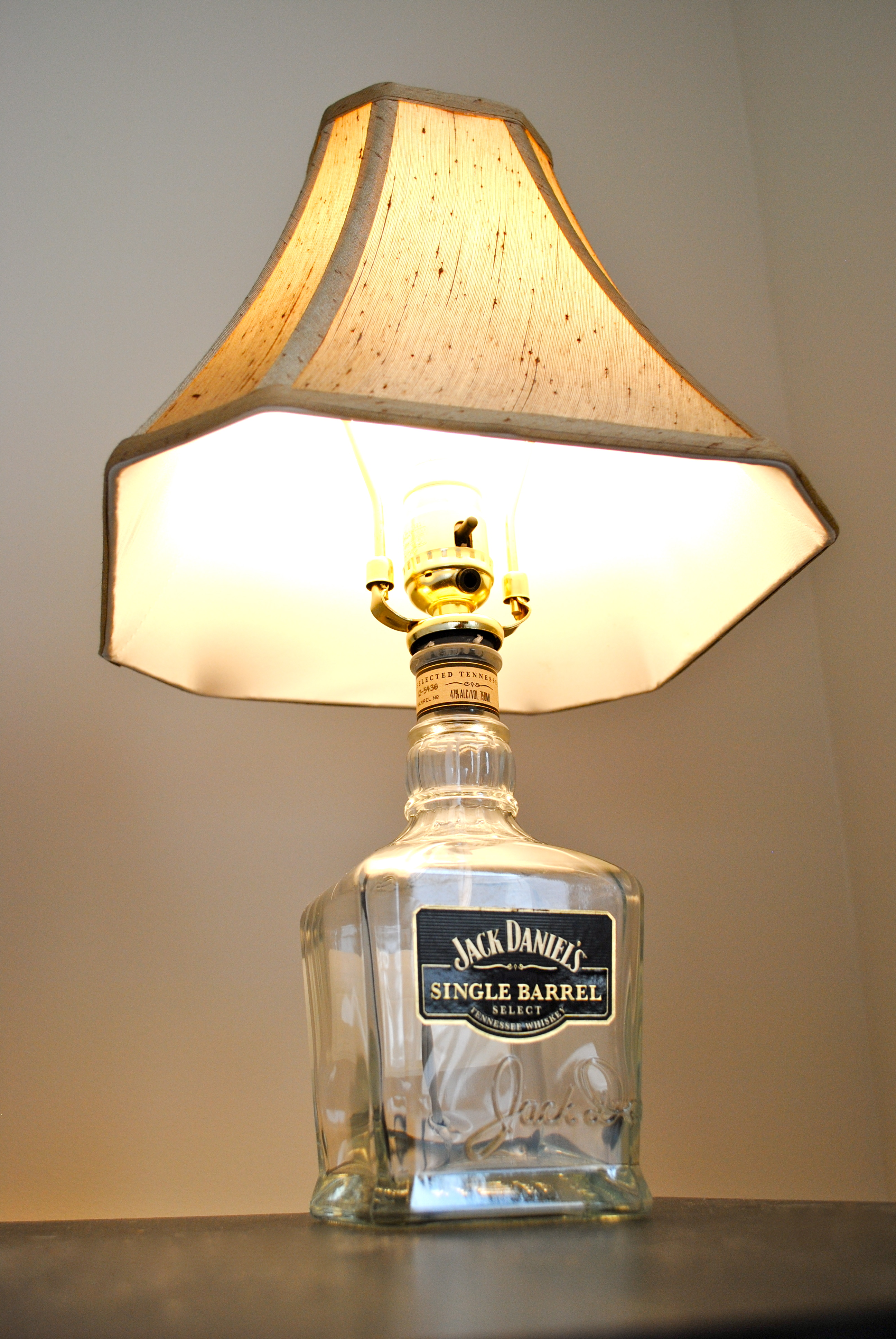 Making A Jack Daniels Lamp Is An Easy Task And Will Surely Get You An  Elegant Homemade Lamp That Can Be Used Dynamically Wherever You Wish To At  Home.