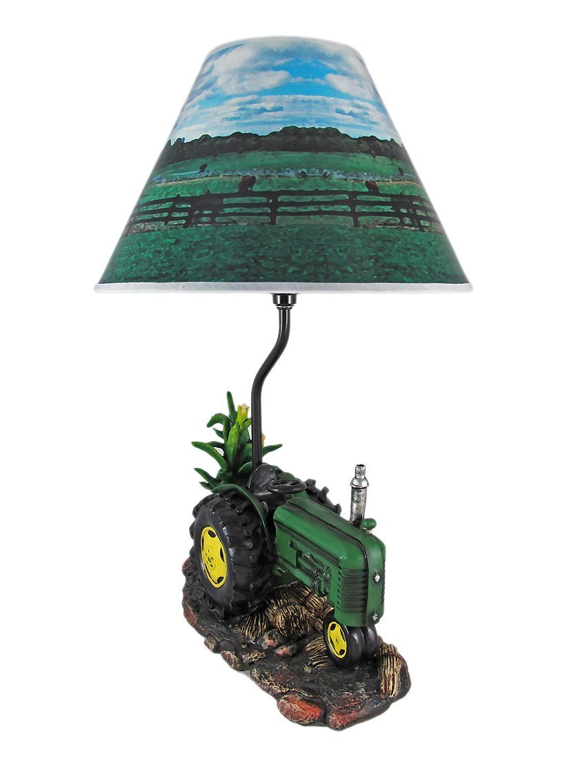 Tractor Desk Lamp : Facts about john deere tractor lamp warisan lighting