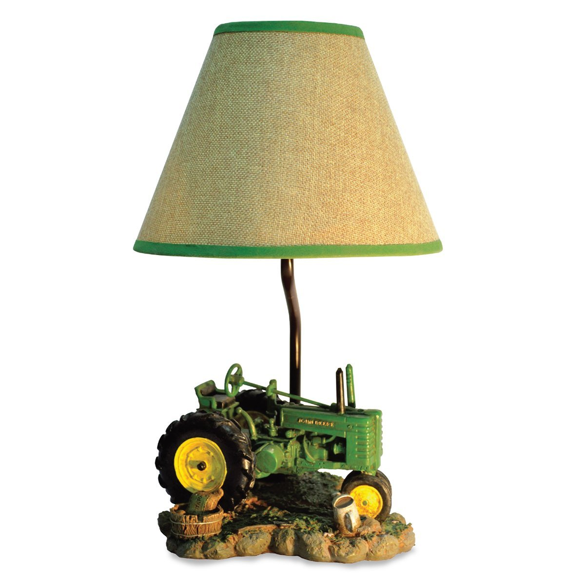 Vingage John Deere Table Lamps : Facts about john deere tractor lamp warisan lighting