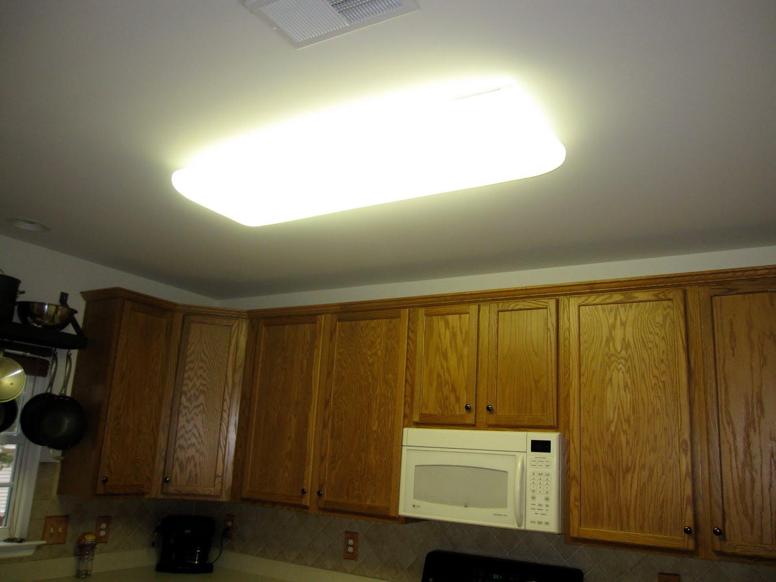 Glamorous Lighting Using Fluorescent Ceiling Lights