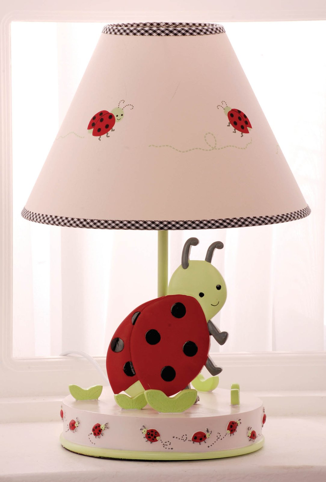 Ladybug lamp 10 methods to give your home different look and description of ladybug lamps mozeypictures Choice Image