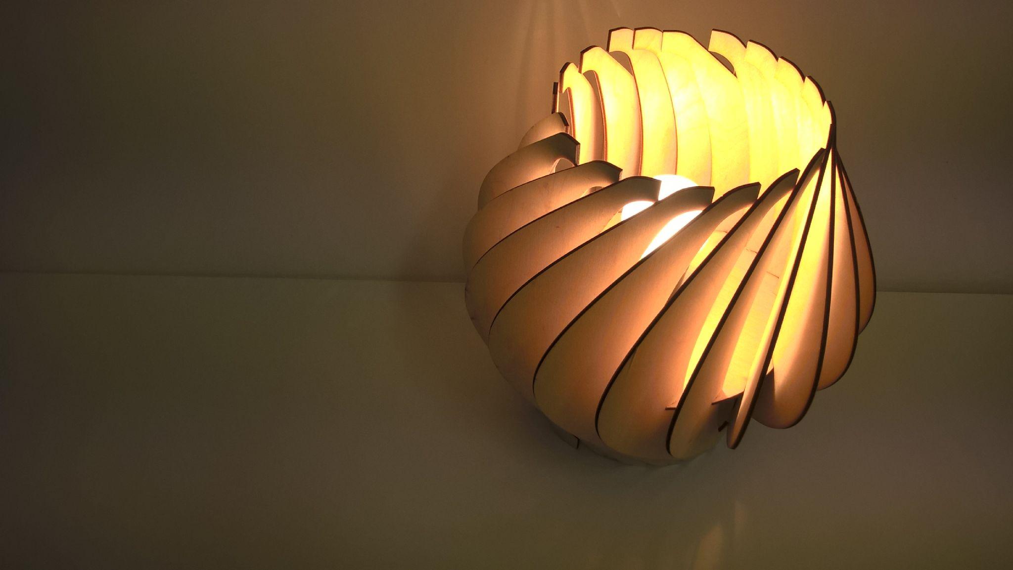 cut lamp