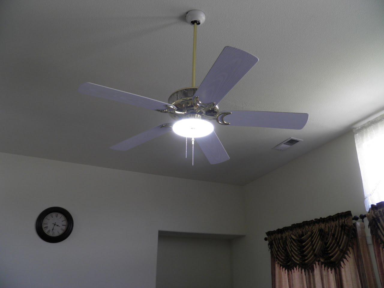 Led Ceiling Fan Lights Energy Efficient Brightening