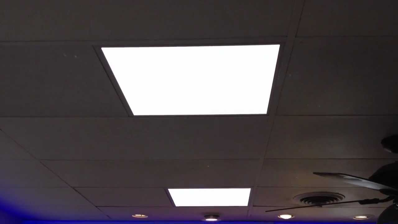 Use Of Led Drop Ceiling Lights For Quality Lighting Beauty And
