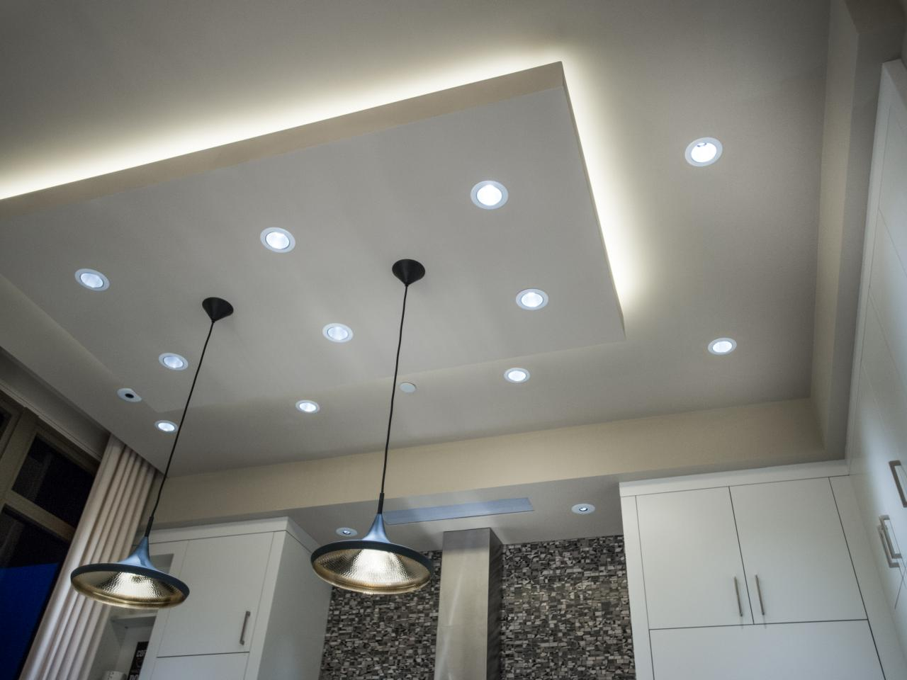 Floating Ceiling Box Light Kitchen