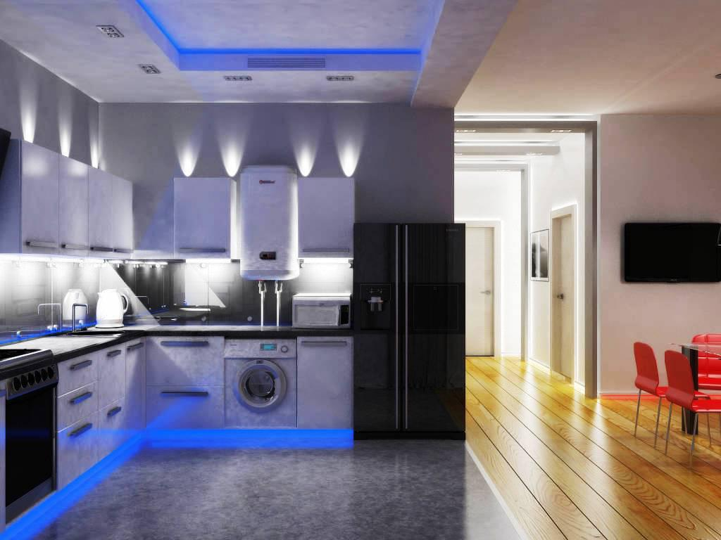 Get large amount of illumination with led kitchen ceiling lights warisan lighting - How to get your kitchen ceiling lights right ...