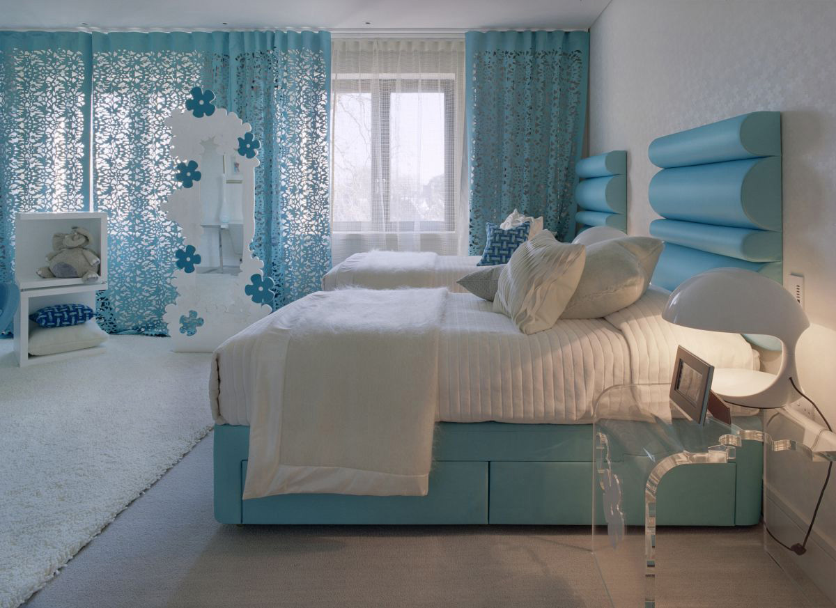Light blue room colors - Making Your Home Ethereal With Light Blue Wall Color