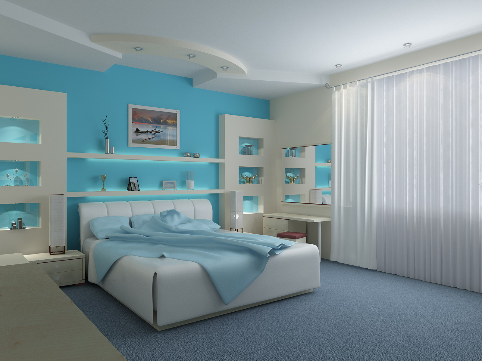 Light blue wall colors - Light Blue Color And Psychology