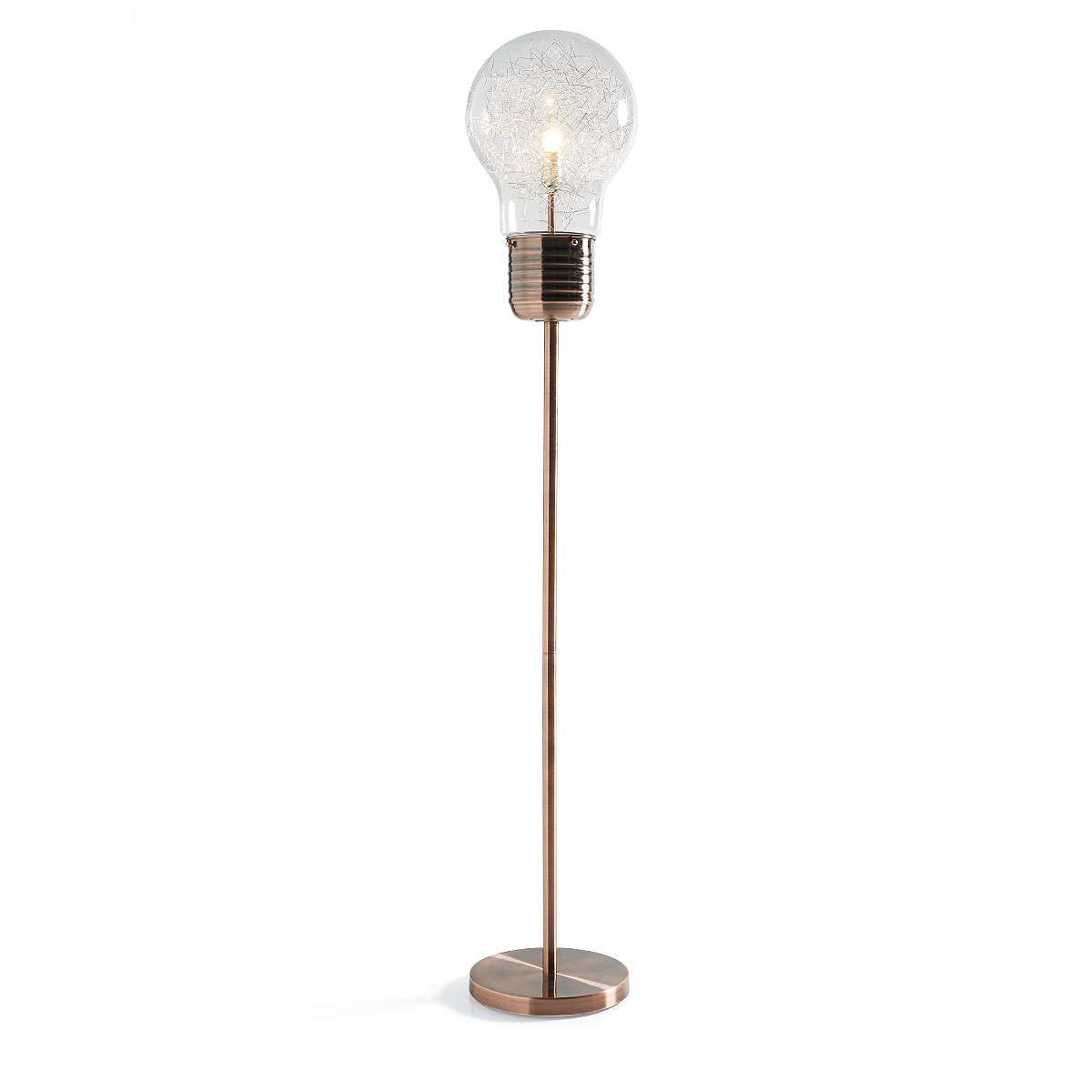 Light bulb floor lamp makes your room look awesome warisan lighting light bulb floor lamp makes your room look awesome mozeypictures Image collections