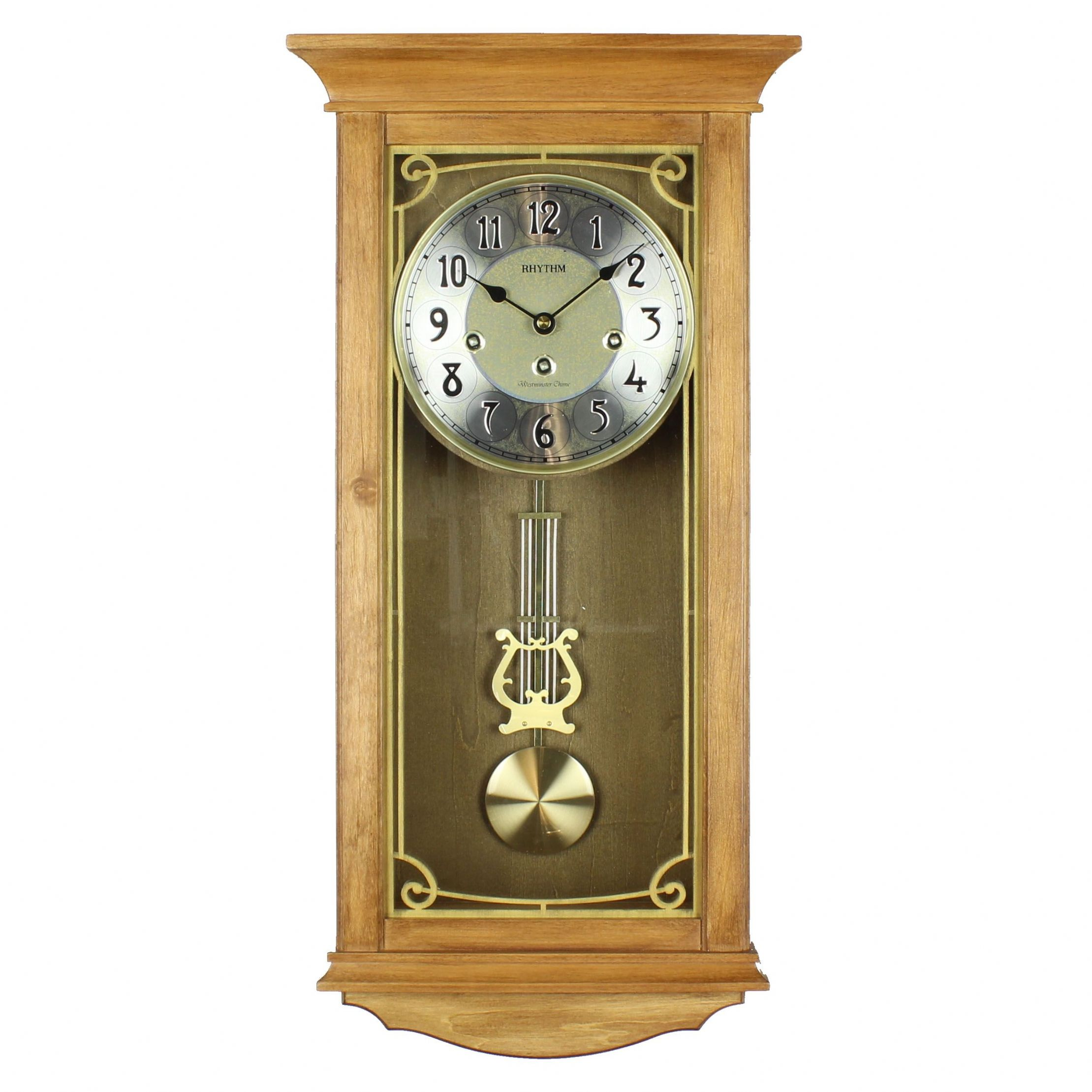 Light Oak Wall Clocks Giving Your Home The Perfect