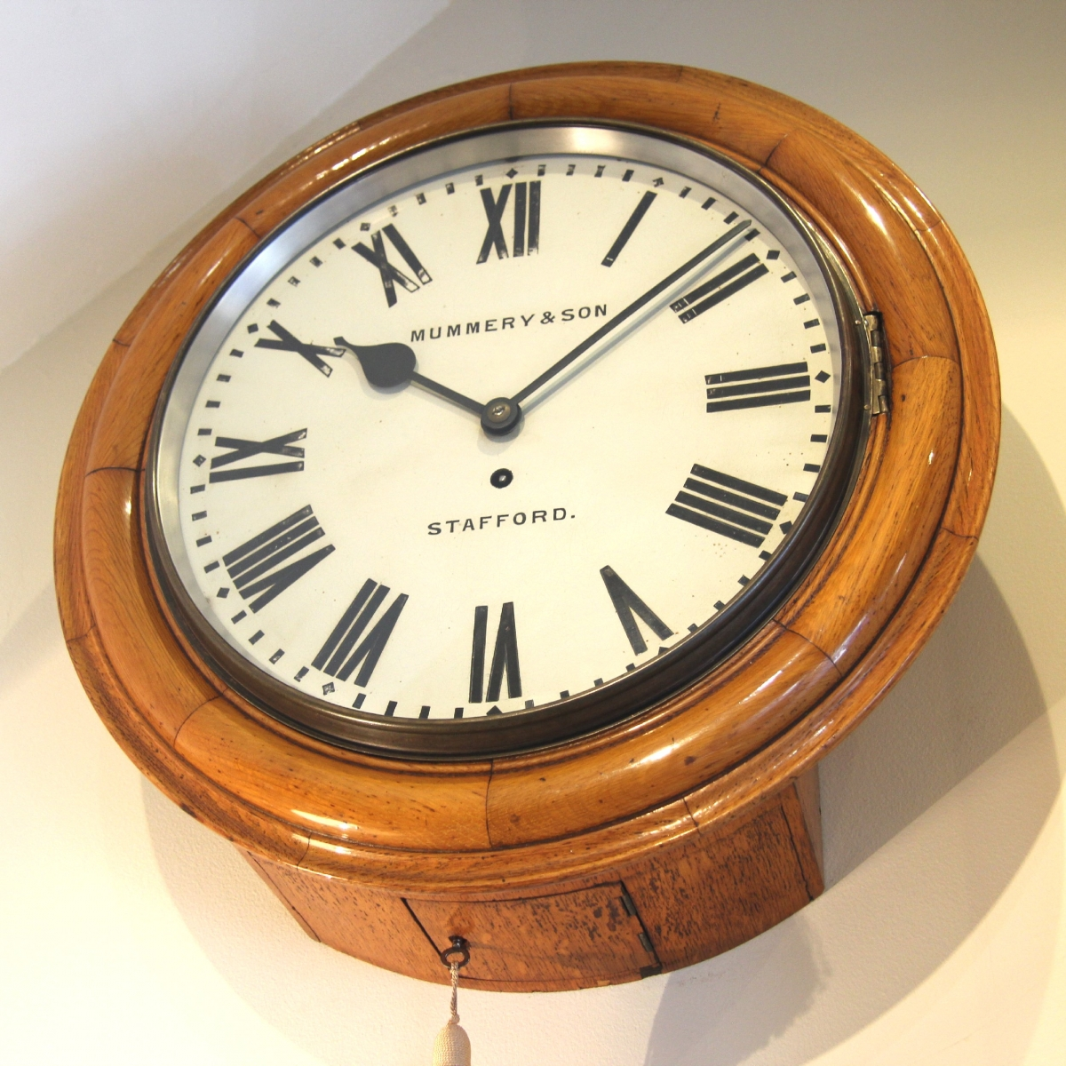 Light oak wall clocks giving your home the perfect rustic charm in conclusion the light oak wall clock will transform your home and give it a countryside classical ambience we all crave in this urban times aloadofball Choice Image