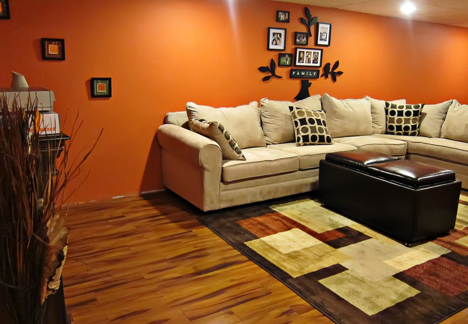 Make Home Decoration Fun With Light Orange Wall Paint Warisan Lighting
