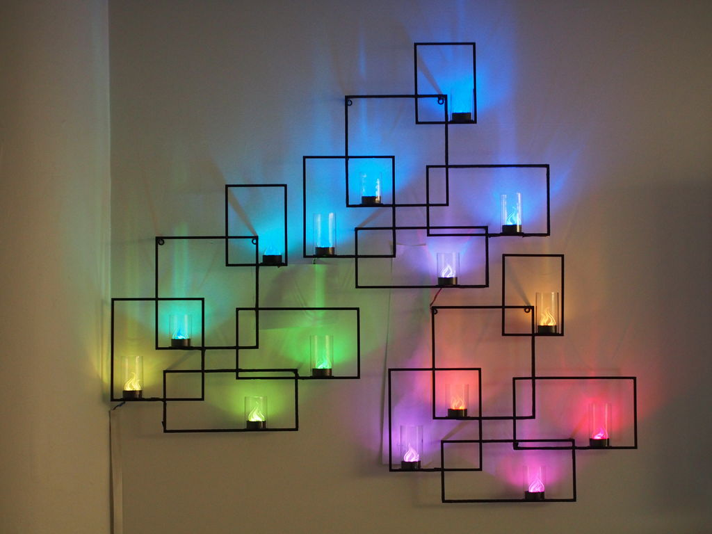 Versatile and elegant  The light wall. Enhance the Appearance Of Your Room Using Light Wall Art   Warisan