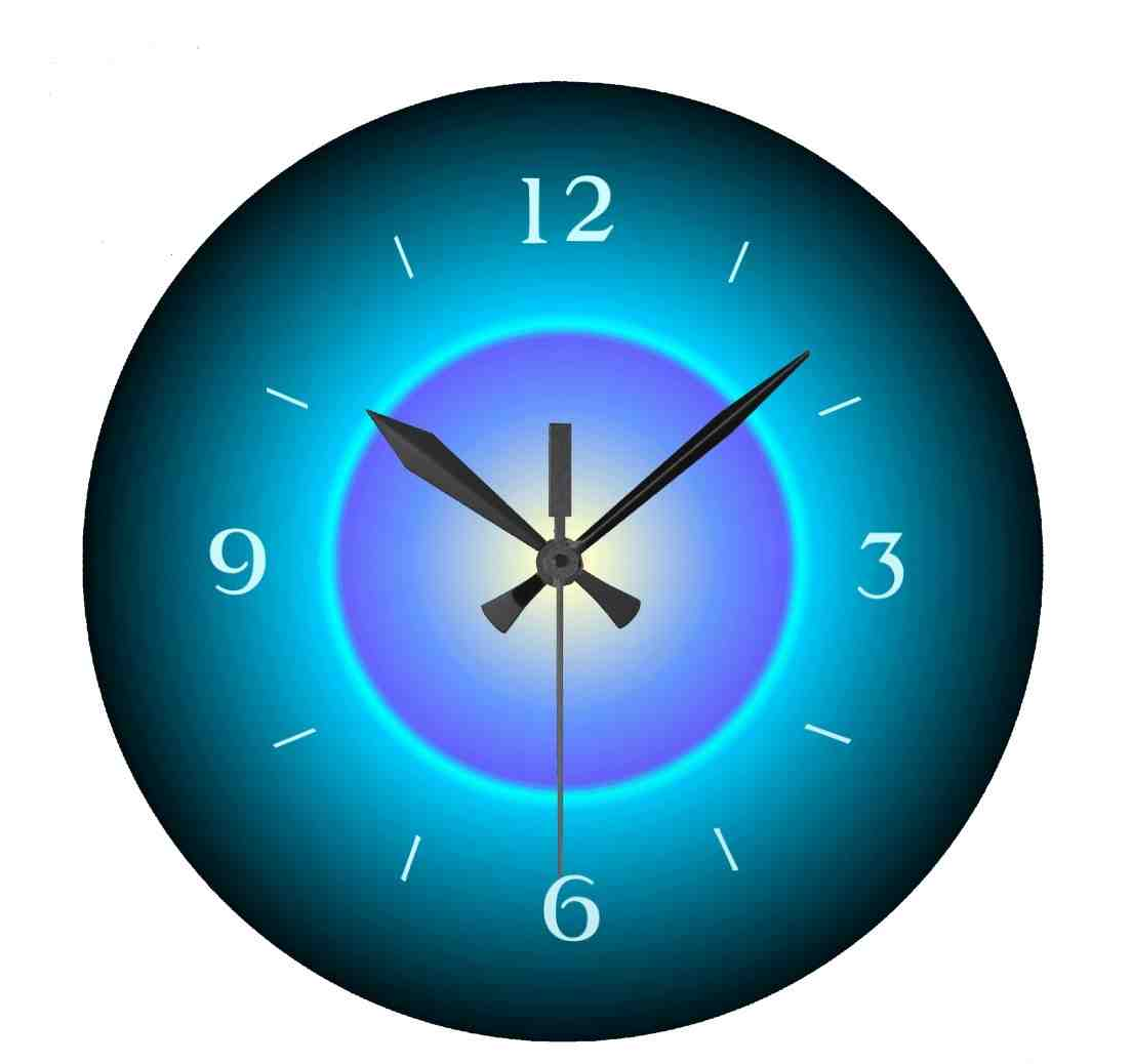 Adding elegance to your room using lighted digital wall Digital led wall clock