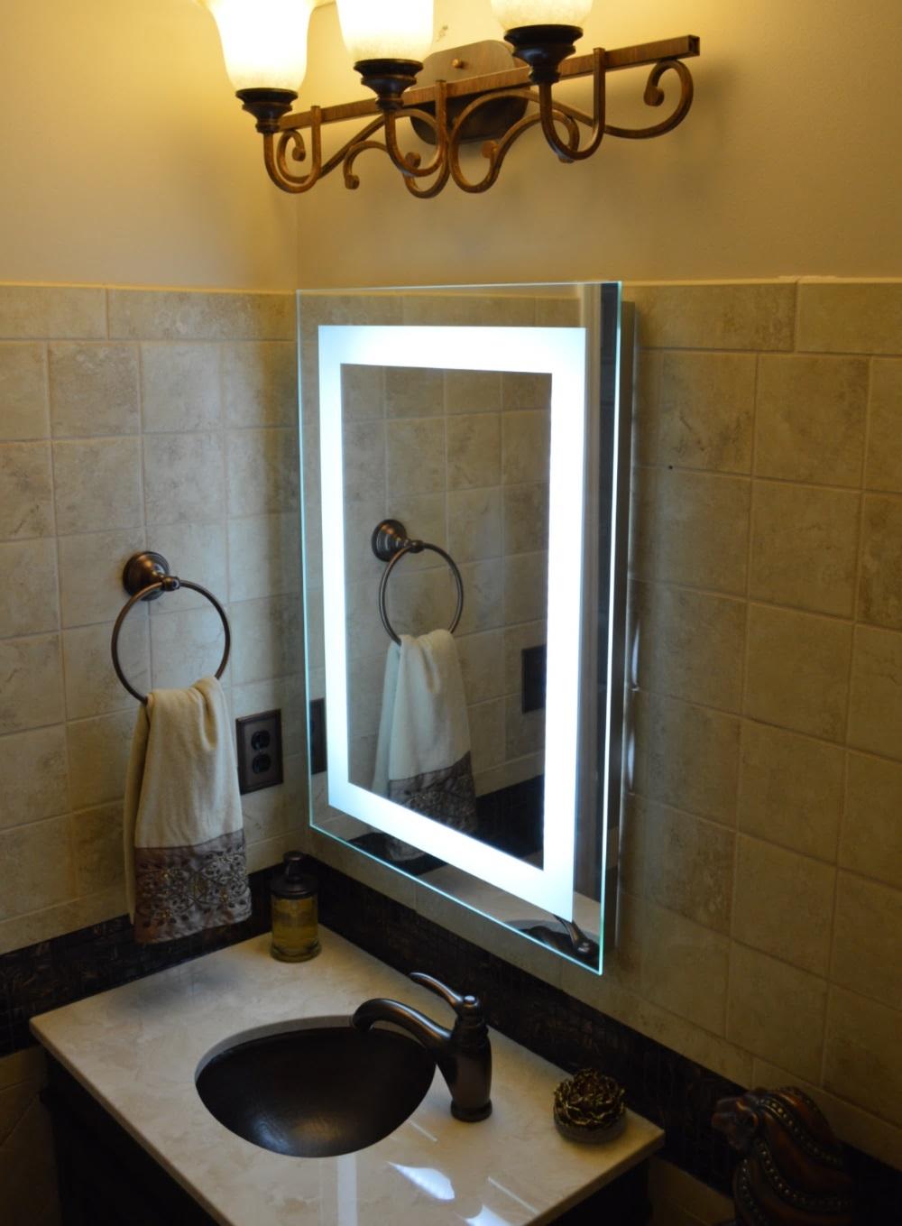 Bathroom Vanity Led Lights Canada bathroom wall mirrors canada. oval bathroom mirrors designs