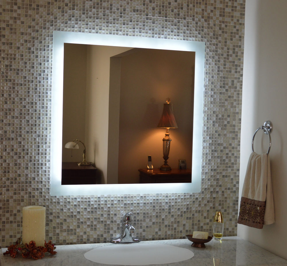 mirror table lighted plus samll lights well corner rectangle up design bathroom modern illuminated attractive mounted wall square mount painted light vanity bedroom and ideas wooden for brown mirrors with combined interior makeup as