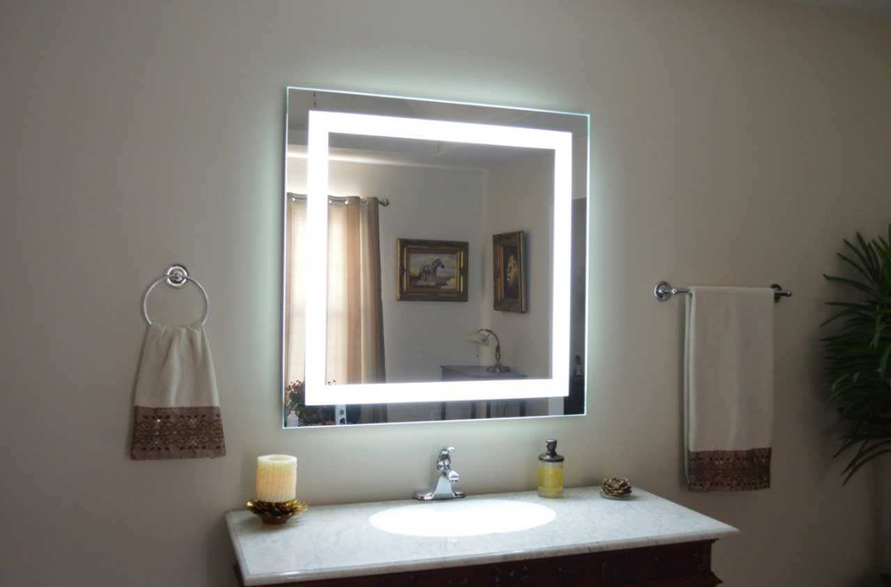 10 facts to consider before installing lighted vanity wall mirrors where to get lighted vanity wall mirrors aloadofball Image collections