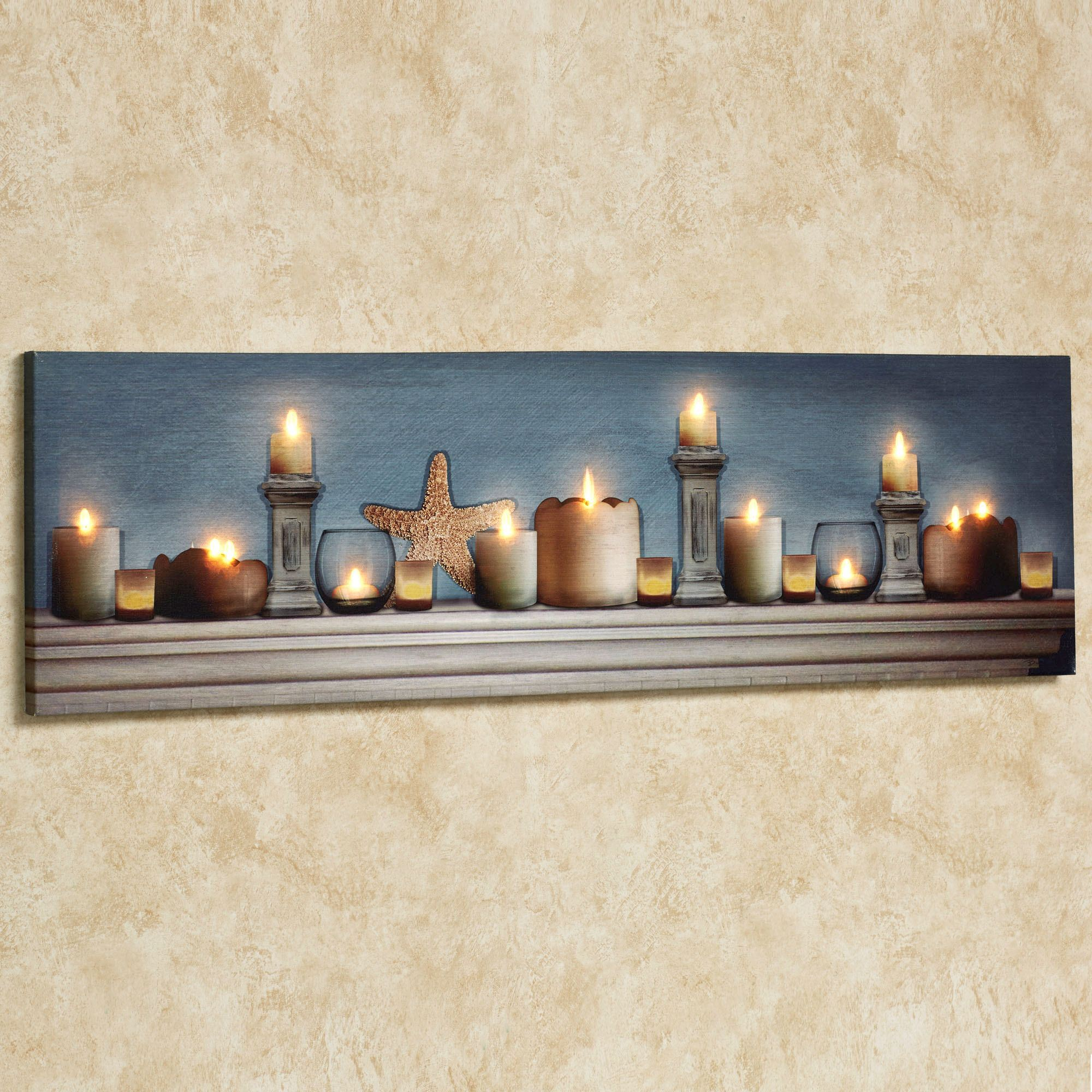 Brighten Your Room and Add Luxurious Touch Using Lighted ... on Led Wall id=97332