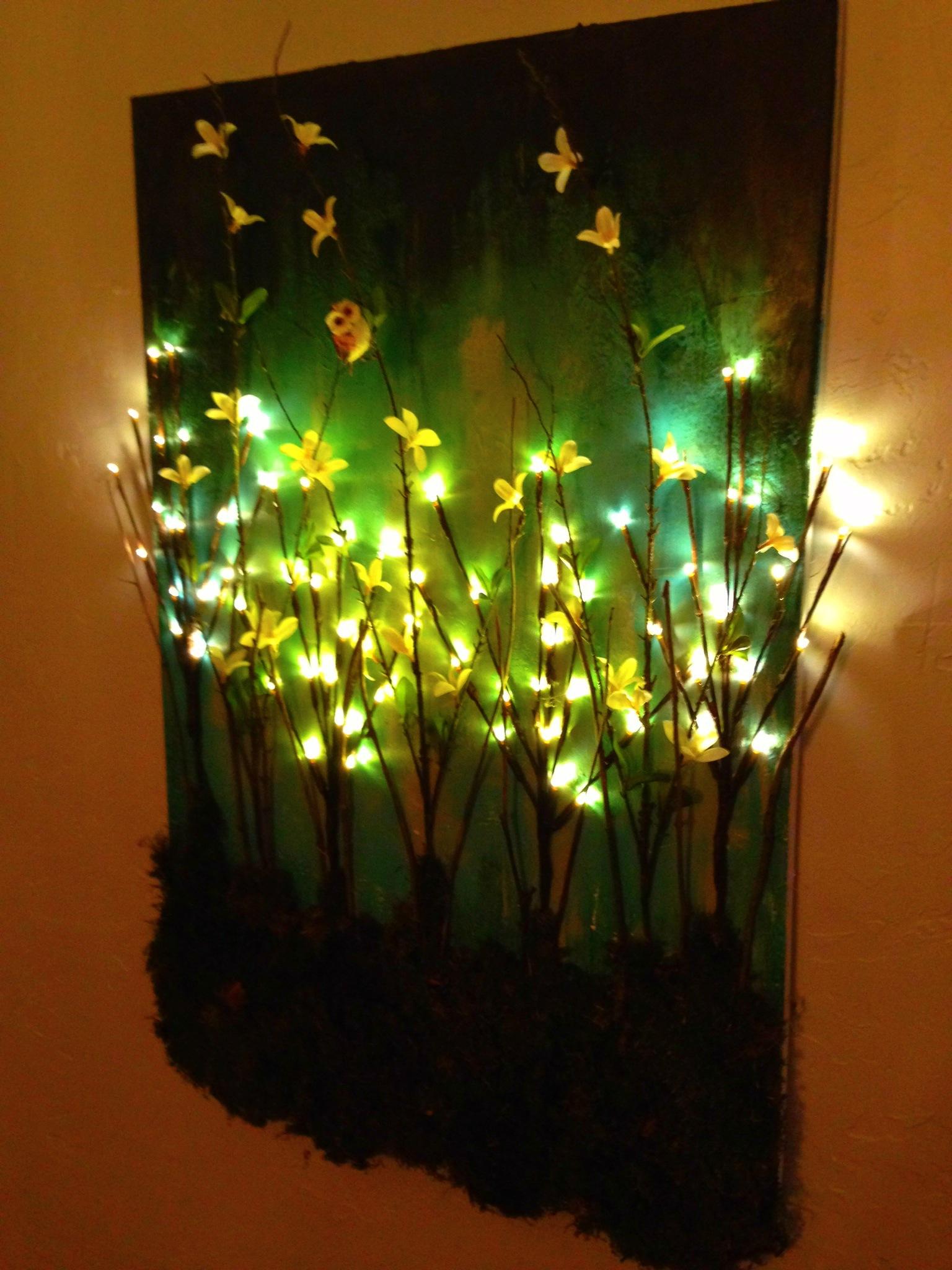Lighted Wall Decor Ideas Easy Craft