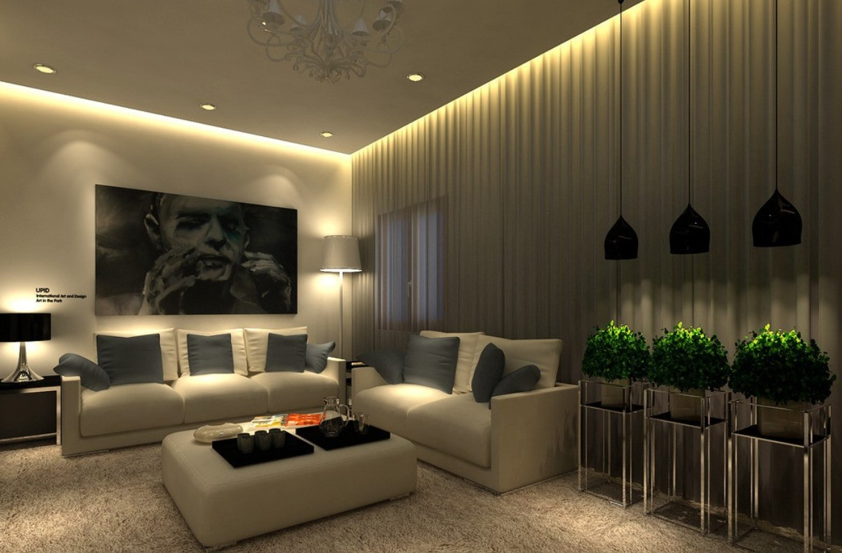 Dual purpose and practical ceiling lights featuring a built in fan create an attractive feature in any modern living room or bedroom and ensure there is a