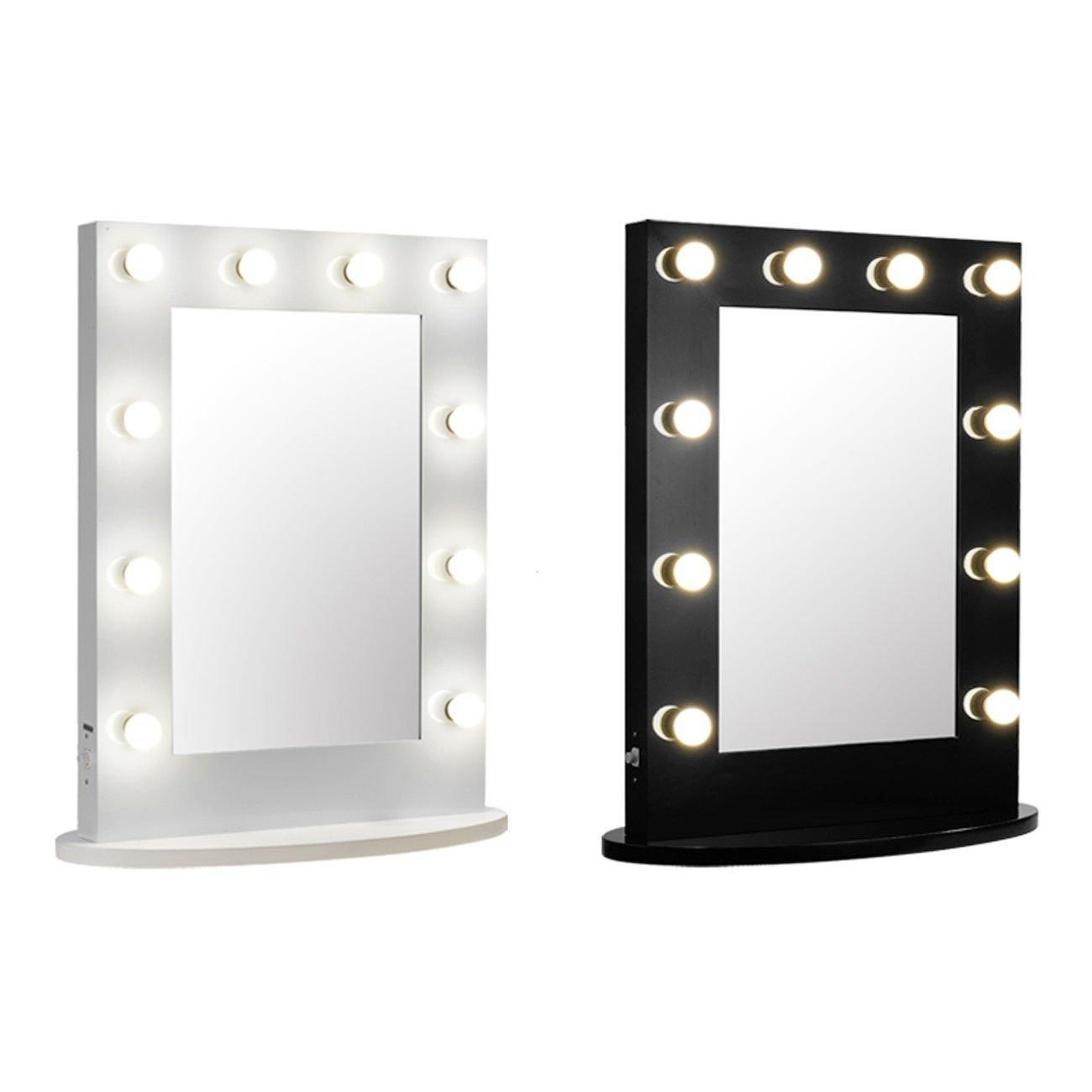 Homemade makeup vanity lights pt 2 youtube the makeup for Beauty mirror