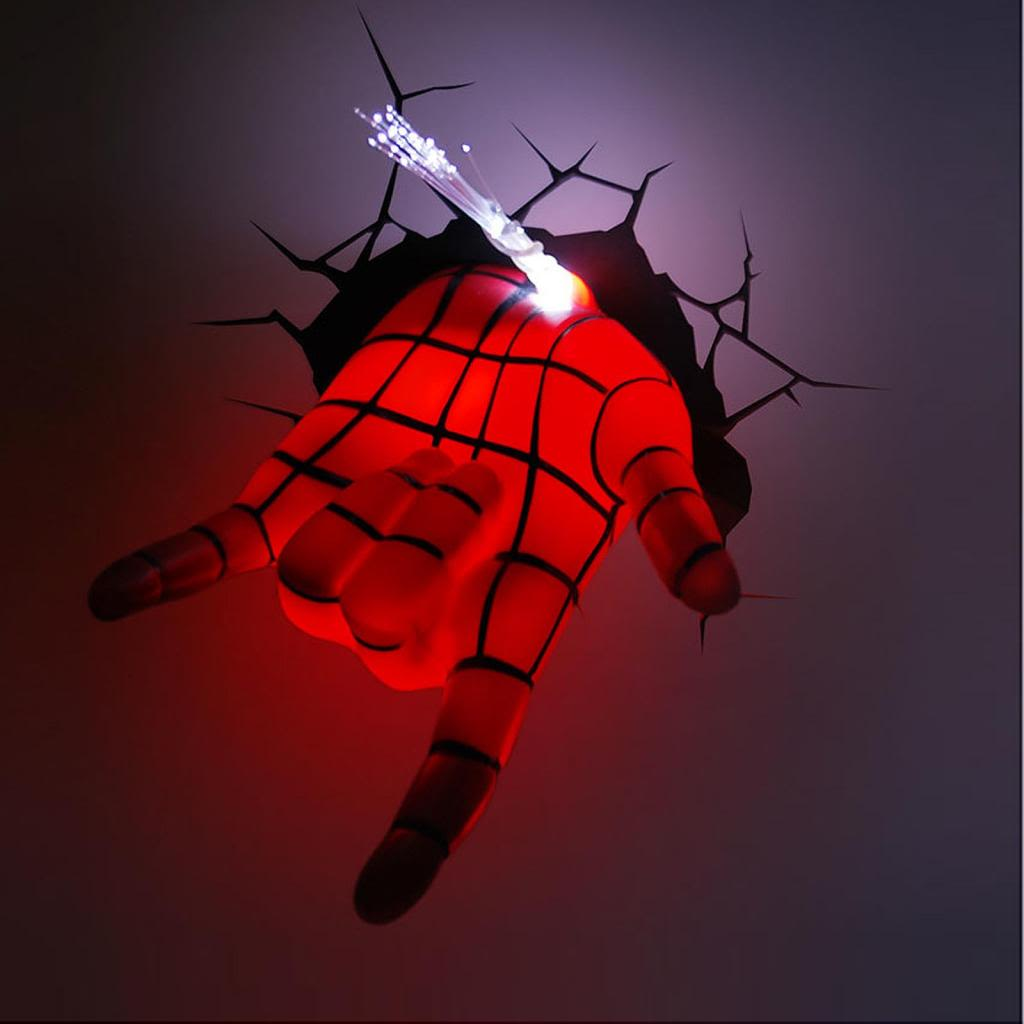Helps in beautifying your room & Great role of Marvel avengers 3d wall lights | Warisan Lighting