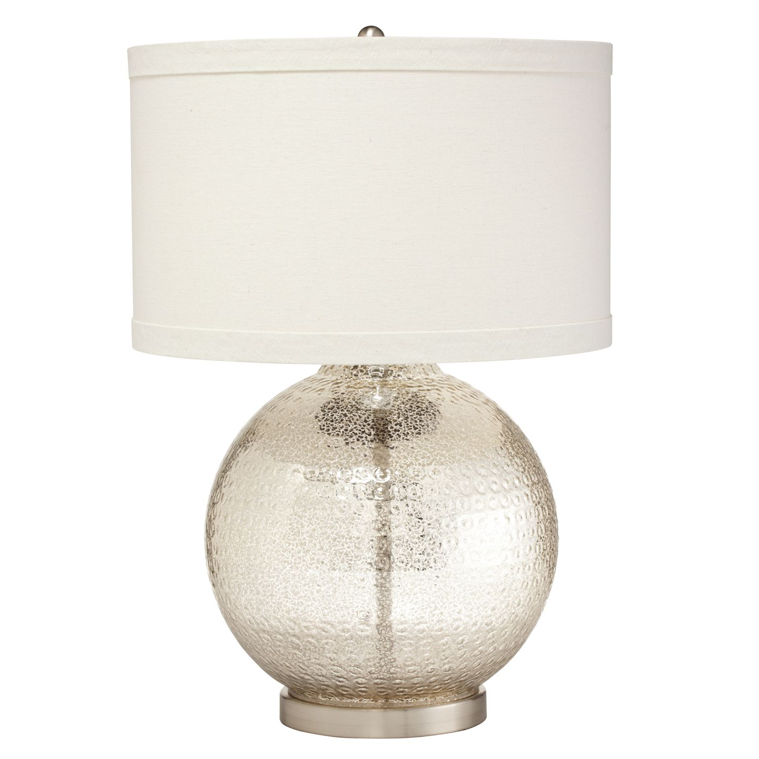 Mercury glass table lamps A Nostalgic Sparkle For Every Home