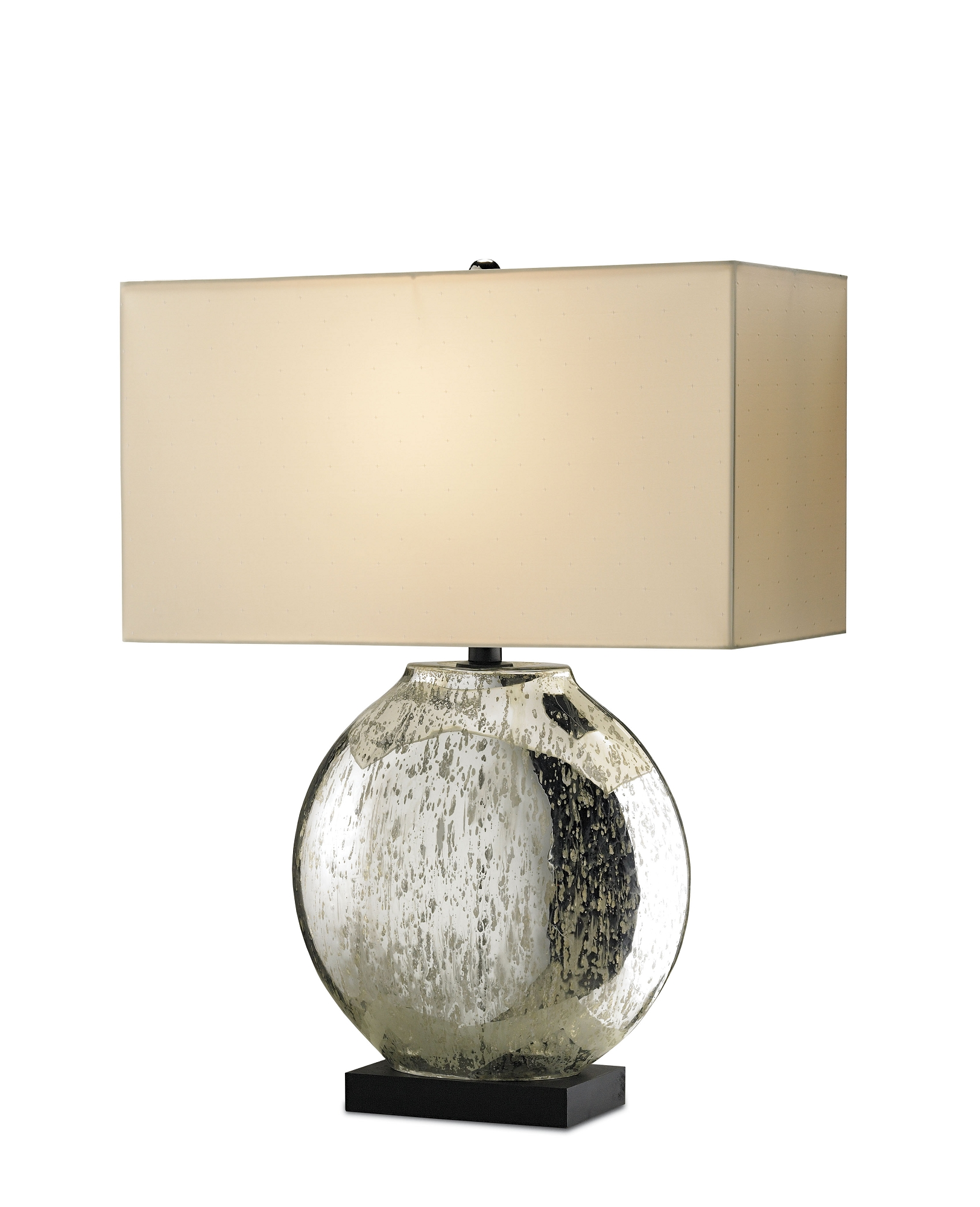 Broyhill mercury glass table lamp - Mercury Glass Table Lamps A Nostalgic Sparkle For Every Home Warisan Lighting