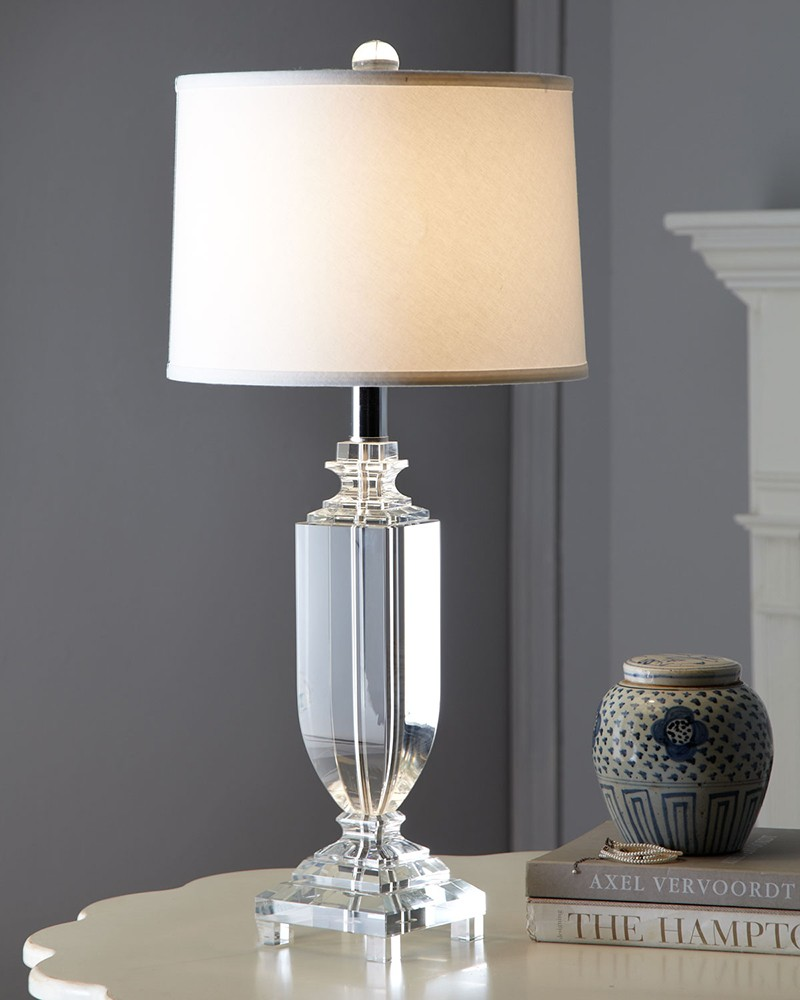 modern crystal table lamps  the ultimate buying guide  warisan  - size matters