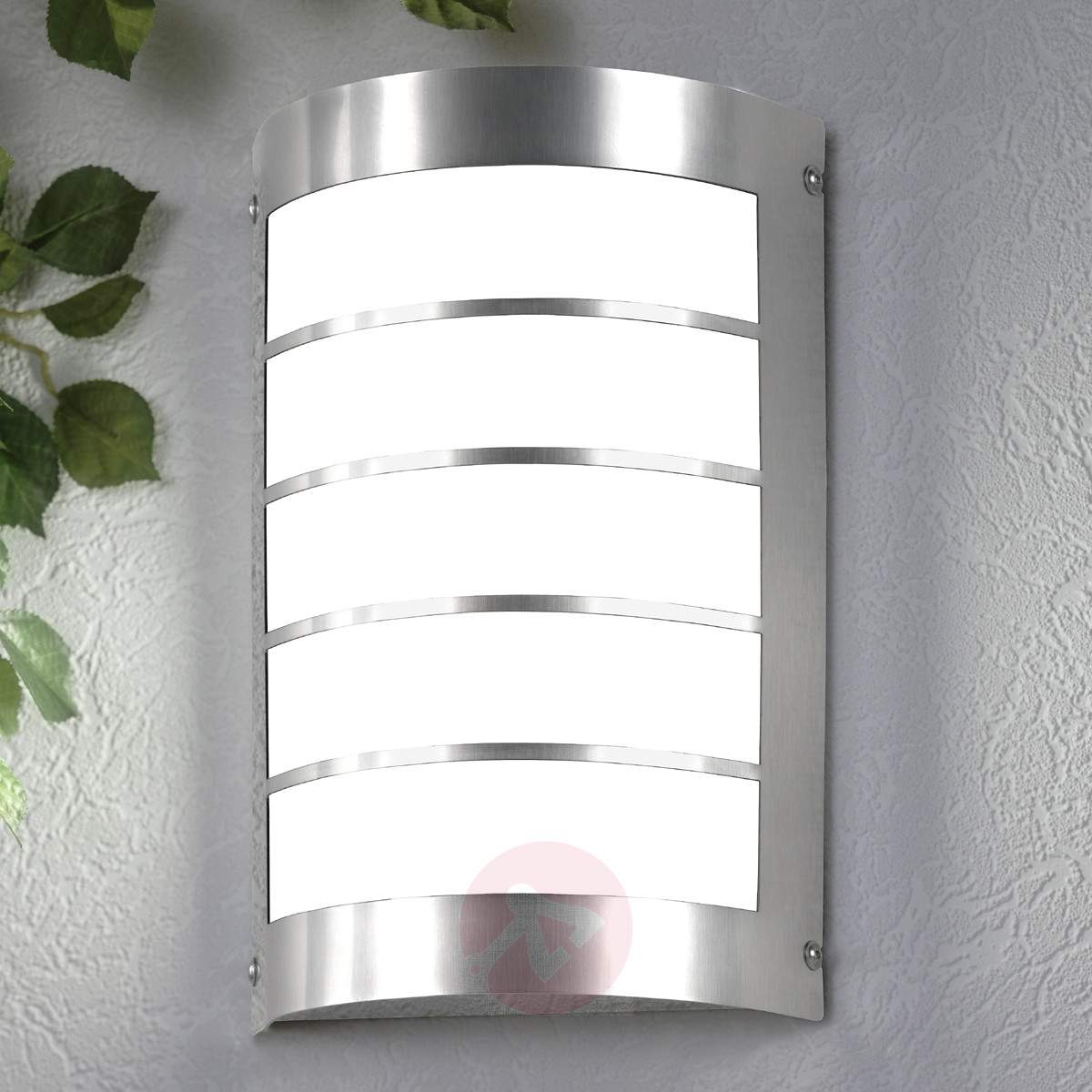 ... Homes Have Modern Exterior Wall Lights. These Lights Ameliorate The  Aesthetics Of Homes By Spot Lighting The Landscape Characteristics Of A  Compound, ...