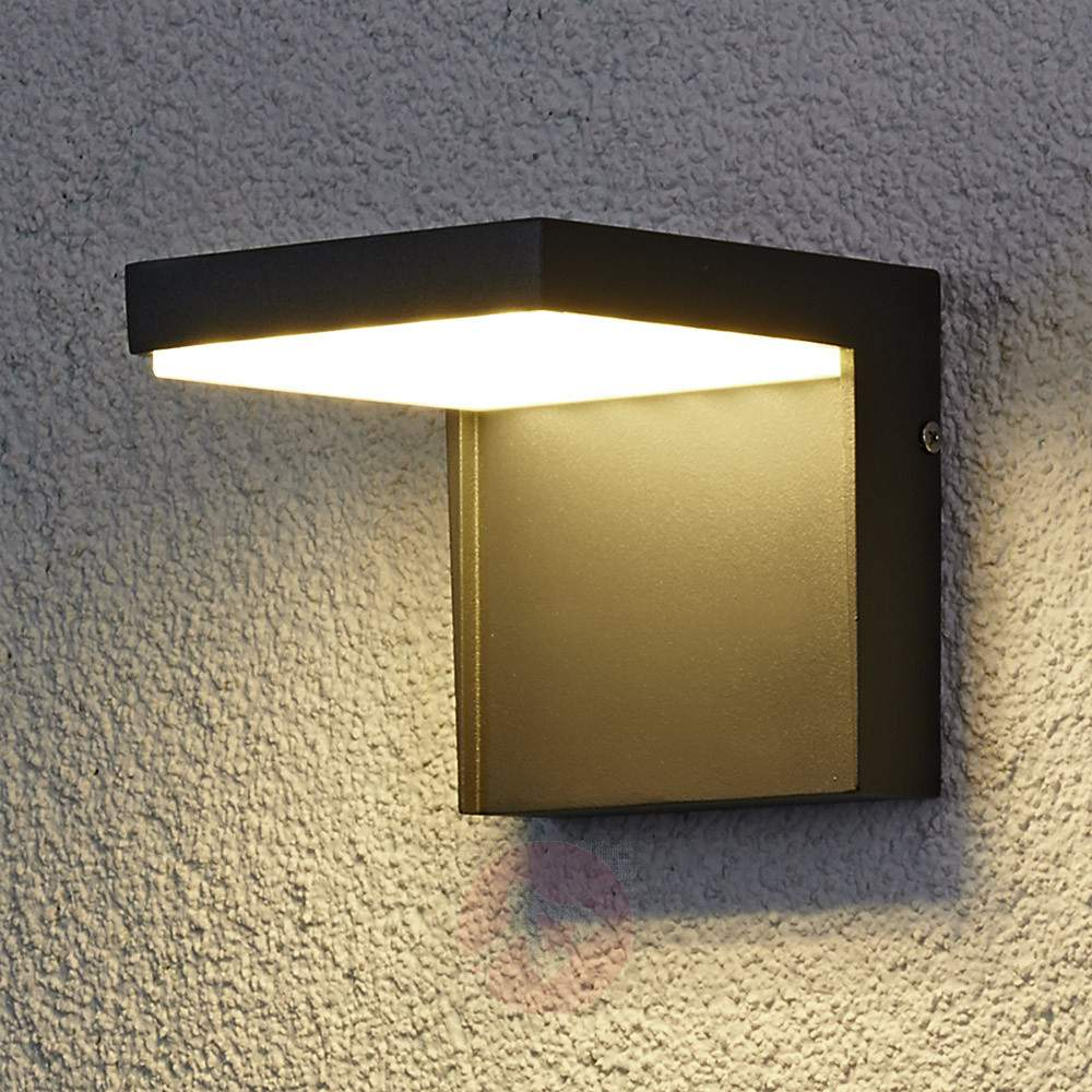 Create an assertive calm atmosphere in your home compound with the amazing modern outdoor led for Contemporary exterior wall lights