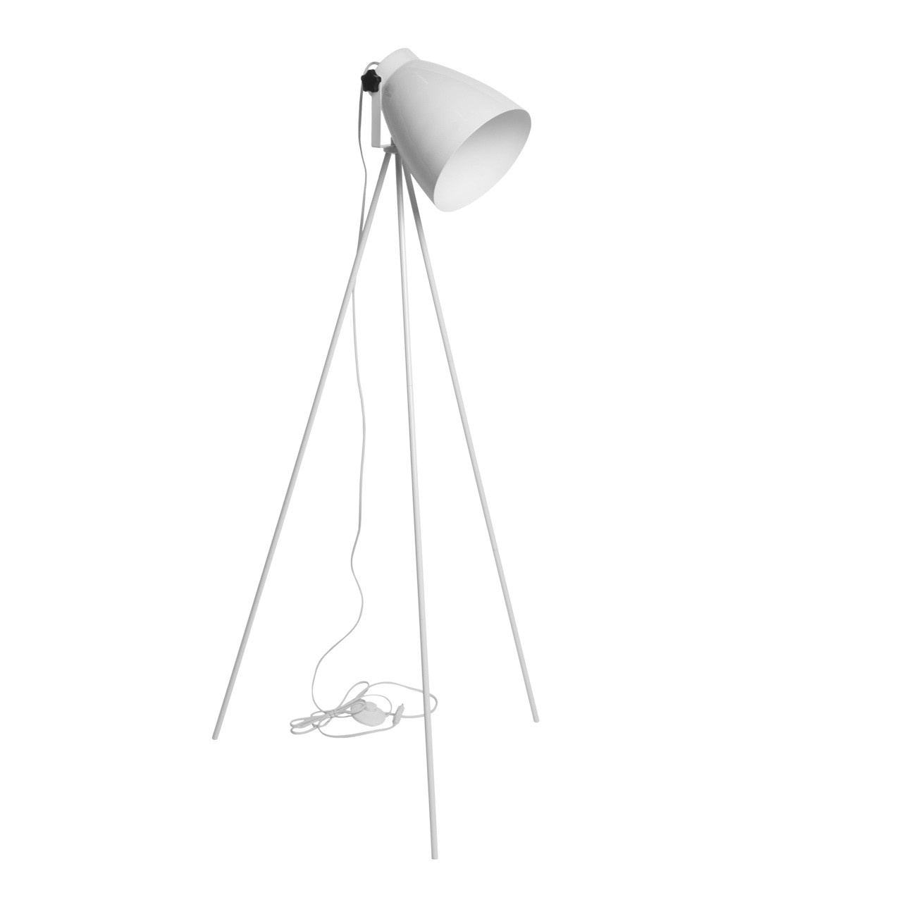 Modern white floor lamp - The Color White S Association With Cleanliness Will Make A Fantastic Addition To Any Kitchen Modern White Floor Lamp