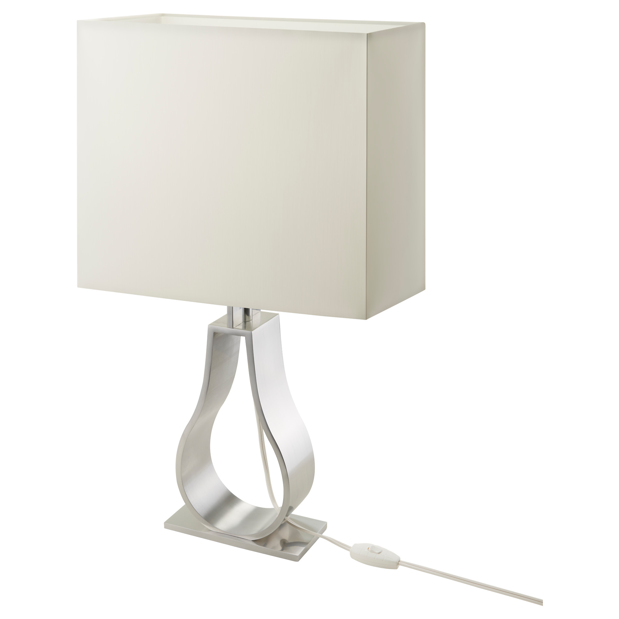 Modern white table lamp enhance the style of your room warisan modern white table lamp enhance the style of your room geotapseo Images