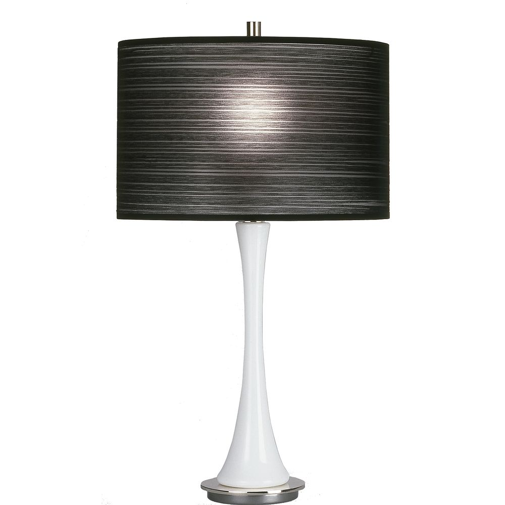 modern white table lamp  enhance the style of your room  warisan  - choose the right design